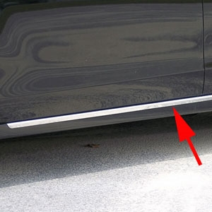 Nissan Altima Rocker Panel Trim (below door), 2013, 2014, 2015