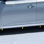 Nissan Sentra Chrome Rocker Panel 'O' Set, 2013