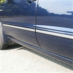 Toyota Highlander Chrome Side Accent Trim, 2001, 2002, 2003, 2004, 2005, 2006, 2007