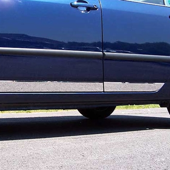 Toyota Corolla Chrome Rocker Panel Trim, 2003, 2004, 2005, 2006, 2007, 2008