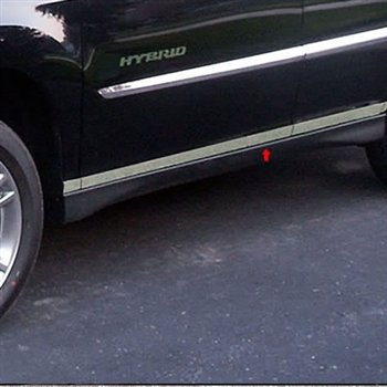 Lexus RX300 / RX350 / RX400 Chrome Rocker Panel Trim, 2004, 2005, 2006, 2007, 2008, 2009