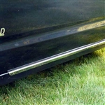 Toyota Prius Chrome Rocker Panel Trim, 2004, 2005, 2006, 2007, 2008, 2009