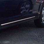 Nissan Versa Chrome Lower Door Accent Trim Set, 2pc. Set, 2007, 2008, 2009, 2010, 2011