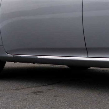 Toyota Corolla Chrome Lower Side Accent Trim, 2009, 2010, 2011, 2012, 2013