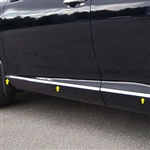 Toyota Venza Chrome Rocker Panel Trim, 8pc. Set, 2009, 2010, 2011, 2012, 2013, 2014, 2015