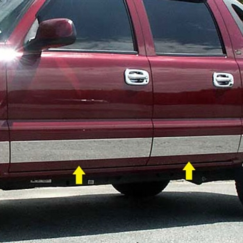 Chevrolet Avalanhche Chrome Rocker Panel Set, 10 pc2002-2006
