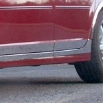Cadillac CTS Chrome Rocker Panel Trim, 2003, 2004, 2005, 2006, 2007