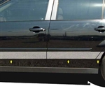 Chevrolet Malibu Chrome Upper Door Rocker Set 2004, 2005, 2006, and 2007