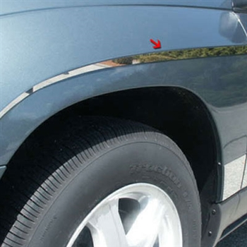 Chrysler Pacifica Chrome Side Accent Trim, 12pc  2004 - 2008