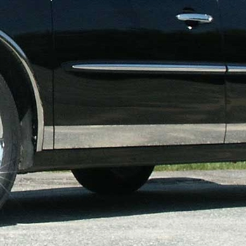 Buick LaCrosse Chrome Rocker Panel Trim, 8pc 2005-2009