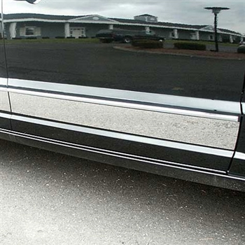 Dodge Caliber Upper Chrome Rocker Panel Set, 4pc  2007 - 2012
