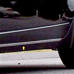 Cadillac CTS Sedan Chrome Rocker Panel Trim, 2pc. Set, 2008, 2009, 2010, 2011, 2012, 2013