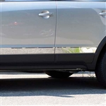 Saturn Vue Chrome Rocker Panel Trim, 6pc 2008 - 2010