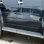 Ford Flex Chrome Rocker Panel Trim, 2009, 2010, 2011, 2012, 2013, 2014, 2015