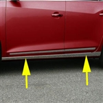 Buick Lacrosse Chrome Rocker Panel Trim (below door), 2010, 2011, 2012, 2013, 2014, 2015, 2016
