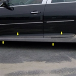 Chevrolet Malibu Chrome Rocker Panel and Door Trim, 2013, 2014