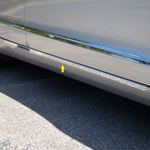 Cadillac ATS Chrome Lower Door Accent Trim Set 2013, 2014