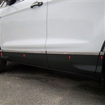 Ford Escape Chrome Lower Door Rocker Panel Trim, 2013, 2014, 2015, 2016, 2017
