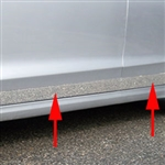 Ford Fusion Chrome Rocker Panel Trim, 2013, 2014