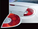 2000-2002 Dodge Neon Tail Light Bezels