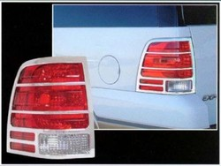 Ford Expedition Chrome Tail Light Bezels, 2003, 2004, 2005, 2006