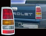 "1999-2002 Chevrolet Silverado ""Fleetside"" Tail Light Bezels"