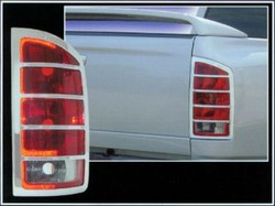 Dodge Ram Chrome Tail Light Bezels, 2002-2006
