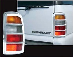 2000-2006 Chevrolet Tahoe Tail Light Bezels