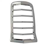 Cadillac Escalade Chrome Tail Light Bezels, 2002, 2003, 2004, 2005, 2006