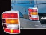 Jeep Grand Cherokee Chrome Tail Light Trim, 1999-2004