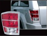 2005-2006 Jeep Grand Cherokee Chrome Tail Light Trim