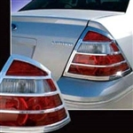 Ford Taurus Chrome Tail Light Bezels, 2008 - 2009