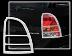 Buick Ranier Chrome Tail Light Bezels, 2004 - 2007