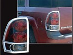 Chevrolet Trailblazer Chrome Tail Light Bezels, 2002 - 2009