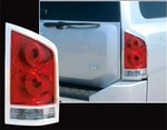 Nissan Armada Chrome Tail Light Bezels, 2004, 2005, 2006, 2007, 2008, 2009, 2010, 2011, 2012, 2013, 2014, 2015