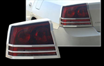 Dodge Charger Chrome Tail Light Bezels, 2006-2010