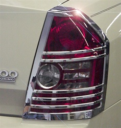 Chrysler 300 / 300C Chrome Tail Light Bezels, 2pc  2008 - 2010