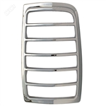 Ford Expedition Chrome Tail Light Bezels, 1997, 1998, 1999, 2000, 2001, 2002