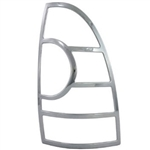 Toyota Tacoma Chrome Tail Light Bezels, 2005, 2006, 2007, 2008, 2009, 2010, 2011