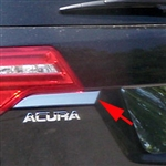Acura MDX Chrome Tailgate Accent Trim, 2007, 2008, 2009, 2010, 2011, 2012, 2013