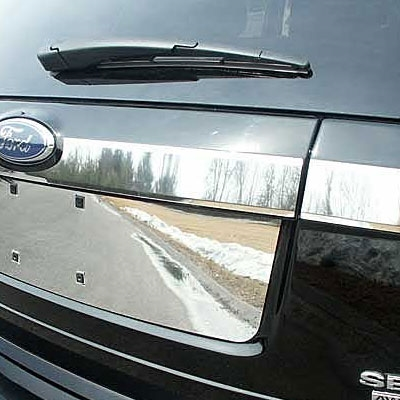 Ford Edge Chrome Trunk Accent Trim 3pc Set 2007 2008