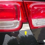 Chevrolet Malibu Chrome Tail Light Insert Trim, 2013, 2014