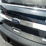 Ford Flex Chrome Tailgate Accent Trim, 2009, 2010, 2011, 2012, 2013, 2014, 2015, 2016, 2017, 2018