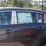Kia Sportage Chrome Window Trim, 2011, 2012, 2013, 2014, 2015, 2016