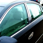 Nissan Altima Chrome Window Trim Package, 10pc. Set, 2002, 2003, 2004, 2005, 2006