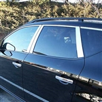 Nissan Murano Chrome Window Trim, 12pc. Set, 2003, 2004, 2005, 2006, 2007
