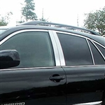 Lexus RX300 / RX350 / RX400 Chrome Window Trim, 2004, 2005, 2006, 2007, 2008, 2009