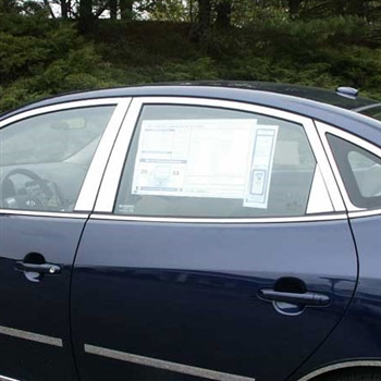 Hyundai Elantra Chrome Window Trim Package, 16pc 2007 - 2010