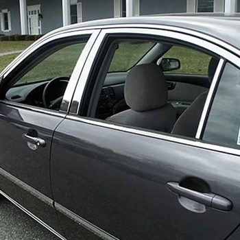 Kia Optima Chrome Window Trim Package, 12pc  2006.5 - 2010