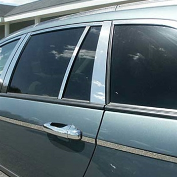 Chrysler Pacifica Chrome Window Package, 14pc  2004 - 2008